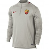 Sweat Foot AS Roma 2017/2018 Homme Rome-Gris Site Francais