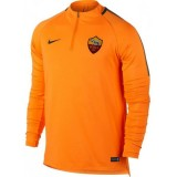 Promotions Sweat Foot AS Roma 2017/2018 Homme Rome-Orange