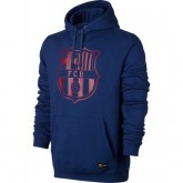 Vente Privee Sweat Foot Barcelone 2017/2018 Capuche Homme Marine