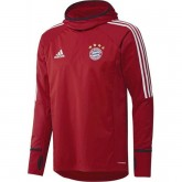 Solde Sweat Foot Bayern 2017/2018 Capuche Homme Rouge
