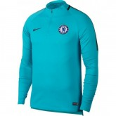 Sweat Foot Chelsea 2017/2018 Homme Turquoise Soldes Provence