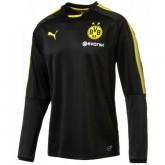 Sweat Foot Dortmund BVB 2017/2018 Homme Noir Soldes