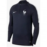 Sweat Foot Equipe de France 2018/2019 Coupe du Monde Homme Marine Escompte En Lgine
