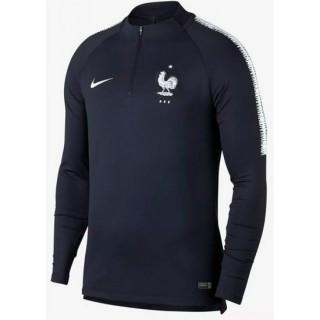 Sweat Foot Equipe de France 2018/2019 Coupe du Monde Homme Marine Escompte En Lgine