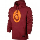 Sweat Foot Galatasaray 2017/2018 Capuche Homme Rouge Nouvelle