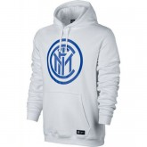 Sweat Foot Inter Milan 2017/2018 Capuche Homme Blanc Moins Cher