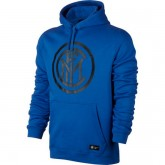 Sweat Foot Inter Milan 2017/2018 Capuche Homme Bleu France Pas Cher