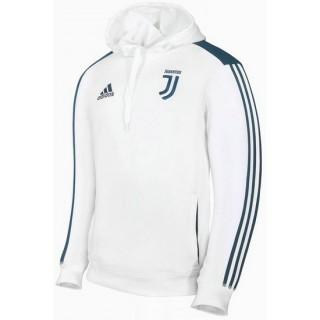 Sweat Foot Juventus 2017/2018 Capuche Homme Blanc-Coton Achat à Prix Bas