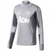Sweat Foot Manchester United 2017/2018 Homme Gris Pas Cher Nice