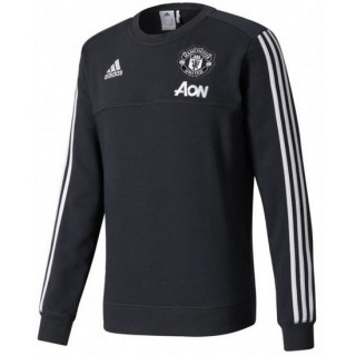 Sweat Foot Manchester United 2017/2018 Homme W-Noir Soldes Provence