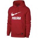 Sweat Foot Pologne 2018/2019 Coupe du Monde Capuche Homme Rouge Site Officiel