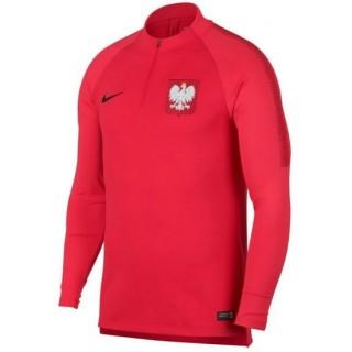 Sweat Foot Pologne 2018/2019 Coupe du Monde Homme Rouge Pas Cher Marseille