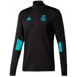 Sweat Foot Real Madrid 2017/2018 Homme Noir Officiel