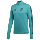 Sweat Foot Real Madrid 2017/2018 Homme Vert Boutique