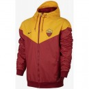 Veste Foot AS Roma 2017/2018 Homme Or Escompte En Lgine