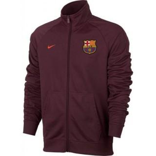 Achat Nouveau Veste Foot Barcelone 2017/2018 Homme Bordeaux