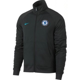 Veste Foot Chelsea 2017/2018 Homme Gris Promos Code
