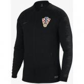 Nouveau Veste Foot Croatie 2018/2019 Coupe du Monde Homme Noir