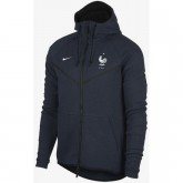 Boutique Veste Foot Equipe de France 2018/2019 Coupe du Monde Homme Fleece Marine Paris