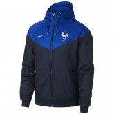 Magasin Veste Foot Equipe de France 2018/2019 Coupe du Monde Homme Marine-Bleu Paris