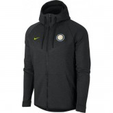 Veste Foot Inter Milan 2017/2018 Capuche Homme Noir Promotions