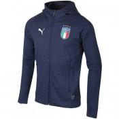 Veste Foot Italie 2018/2019 Homme Casual-Marine Boutique En Ligne