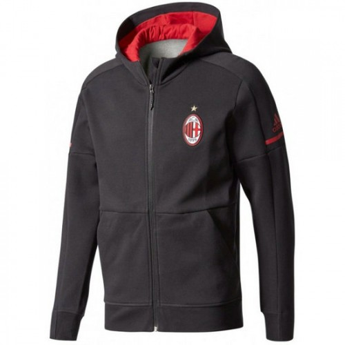 La Collection 2018 Veste Foot Milan AC 20172018 Capuche