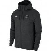 Veste Foot PSG Paris Saint Germain 2017/2018 Capuche Homme Noir Boutique Paris