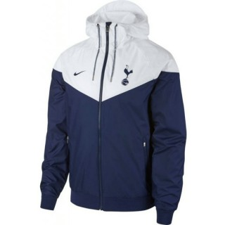 Solde Veste Foot Tottenham 2017/2018 Homme Bleu-Blanc