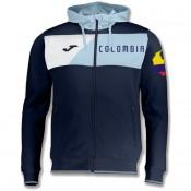 Veste Survetement Colombie 2018/2019 Capuche Homme Marine Rabais en ligne