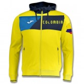 Veste Survetement Colombie Enfant 2018/2019 Capuche Jaune Promo Prix Paris