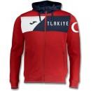Veste Survetement Turquie 2018/2019 Capuche Homme Rouge Promotions