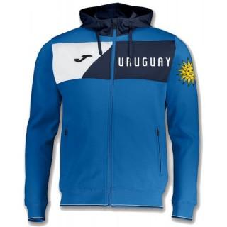 Veste Survetement Uruguay 2018/2019 Capuche Homme Bleu Boutique En Ligne